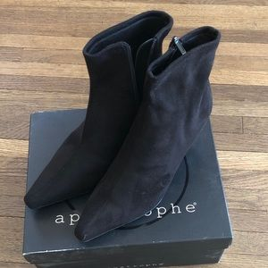 APOSTROPHE suede boots